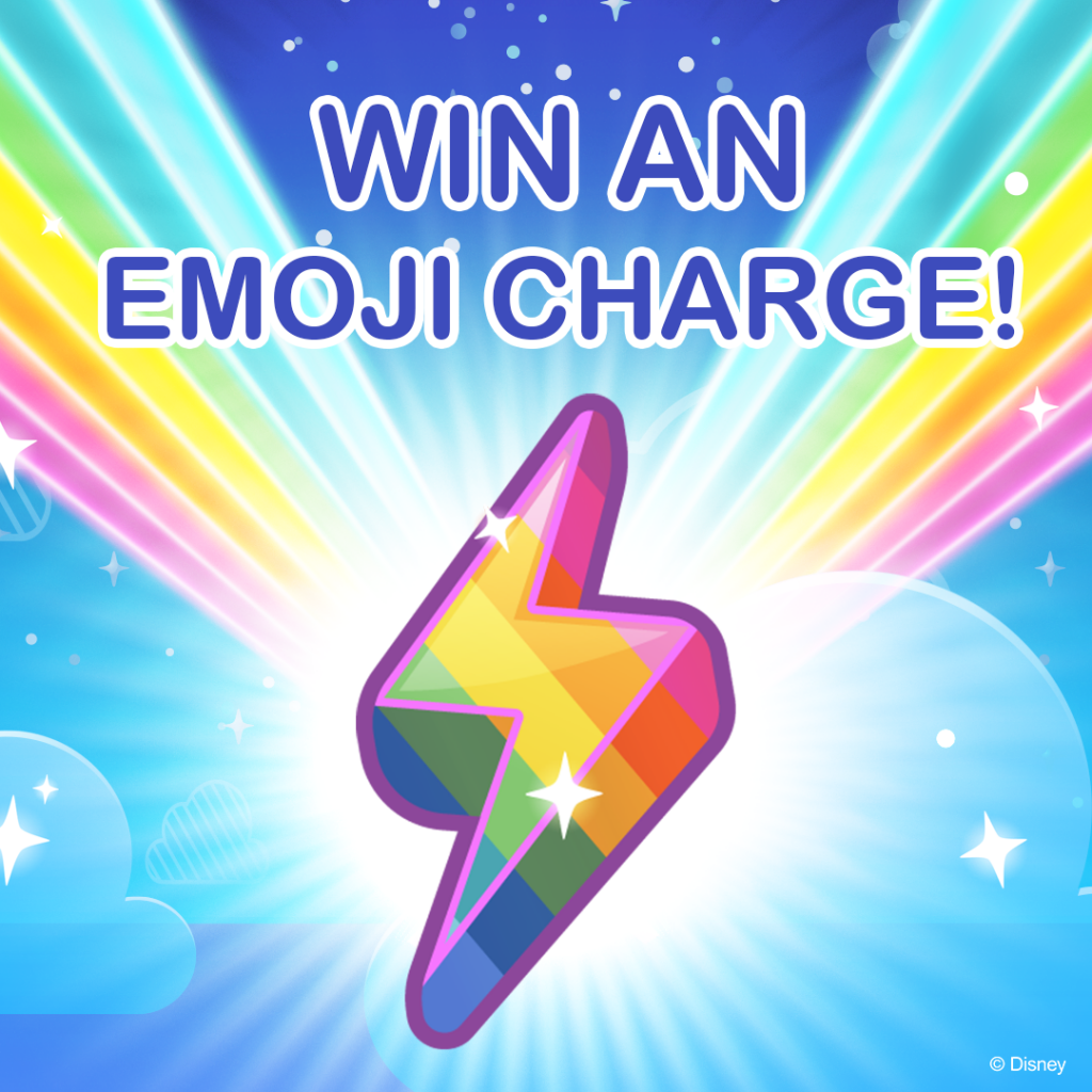 Win an Emoji Charge on Facebook for Disney Emoji Blitz