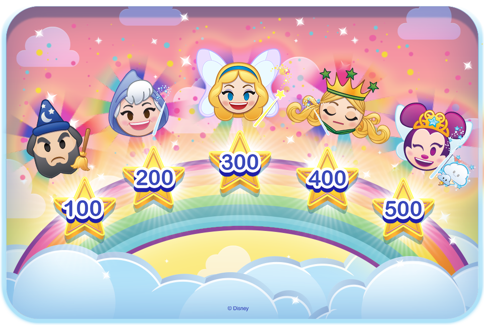 Disney Emoji Blitz Missions and Levels - Mission Level Exclusive Emojis