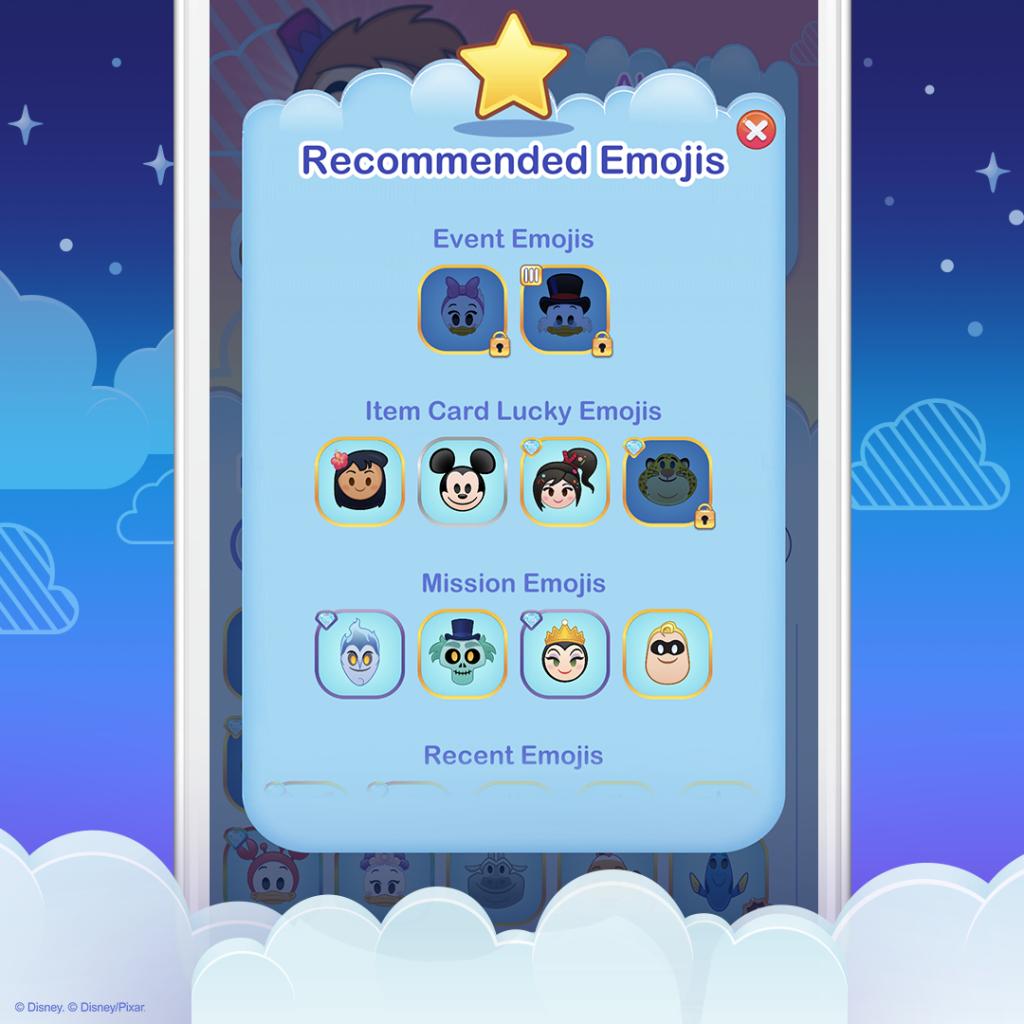 Emoji Collection - Disney Emoji Blitz - Recommended Emojis