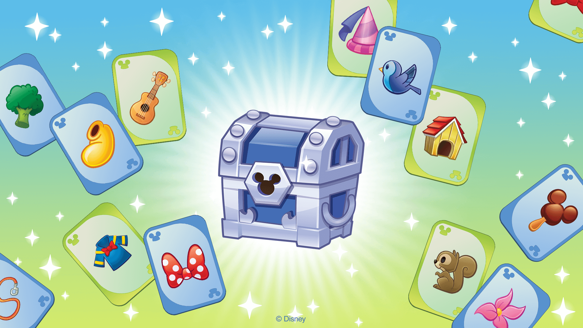 Item Card Collections - Disney Emoji Blitz - banner