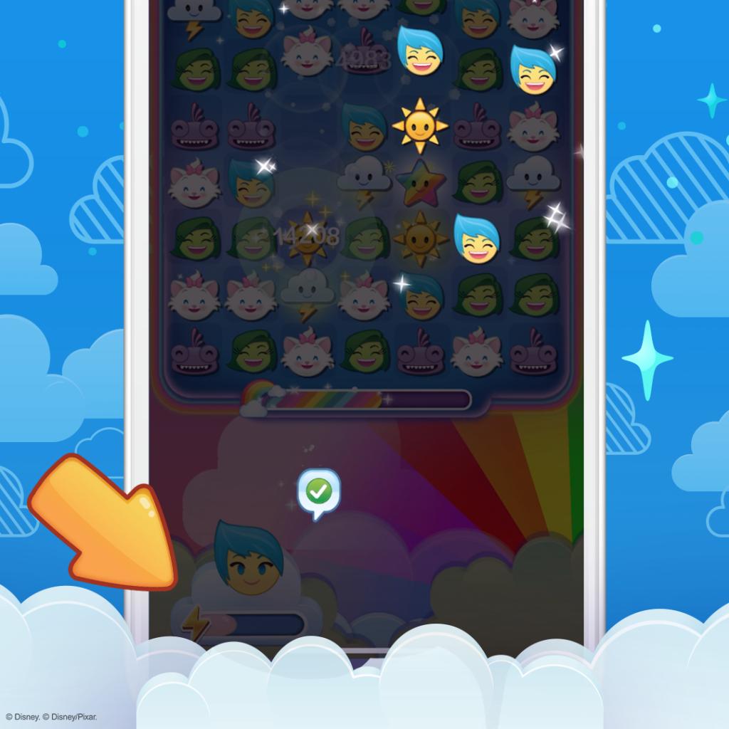 Missions and Levels, Disney Emoji Blitz