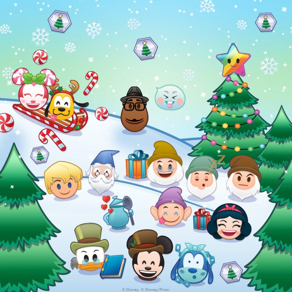 Disney Emoji Blitz, December Events and Emojis