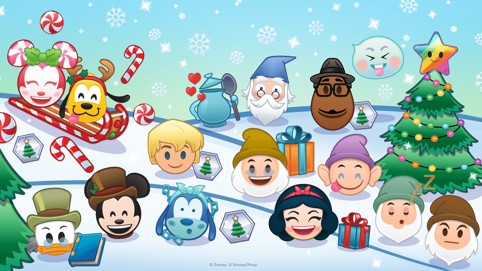 Disney Emoji Blitz, December 2020 Update