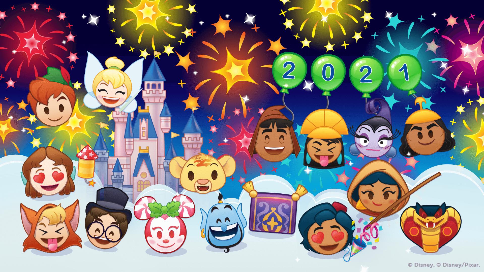 Disney Emoji Blitz January 2021 Update