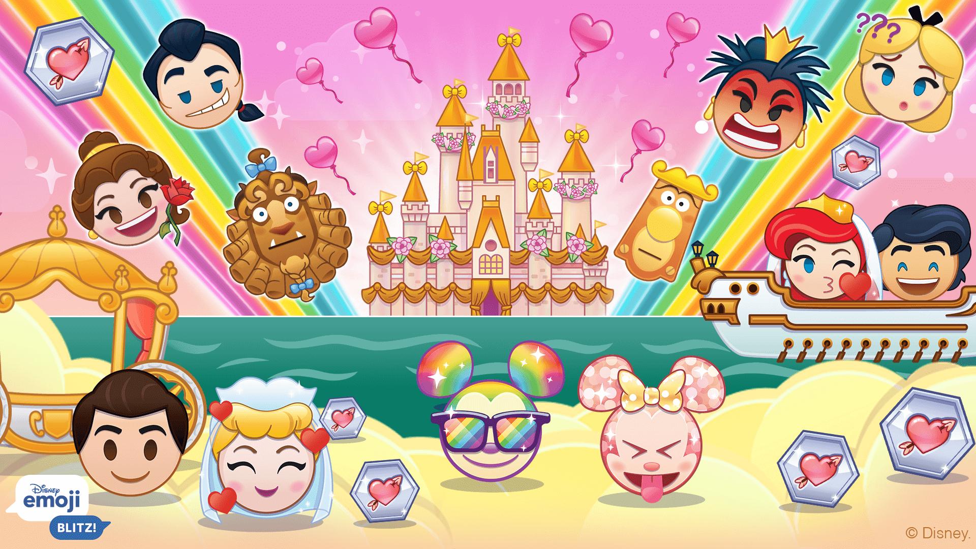 February 2021 Update, Disney Emoji Blitz