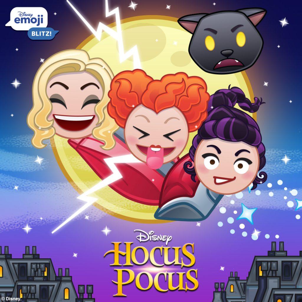 Hocus Pocus, Disney Emoji Blitz