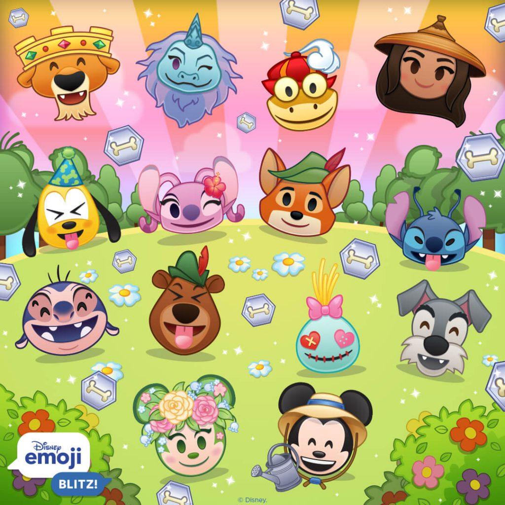 March 2021 Update, Disney Emoji Blitz