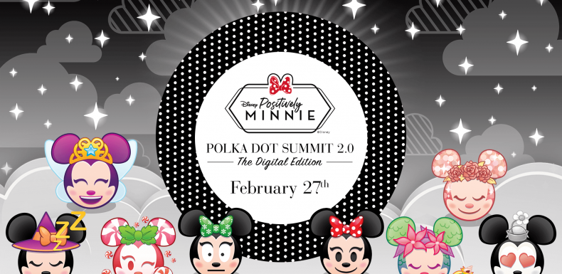Positively Minnie, Polka Dot Summit 2.0 Digital Edition, February 27th, Disney Emoji Blitz