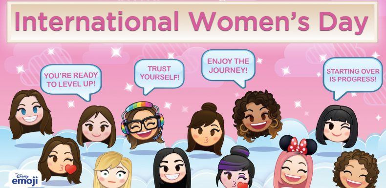 International Women's Day, Disney Emoji Blitz