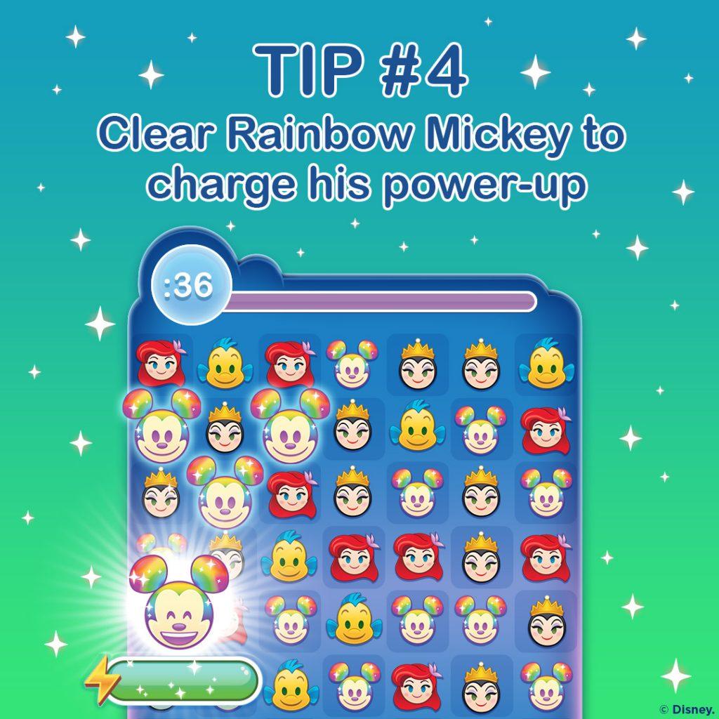 #4 tip in Disney Emoji Blitz