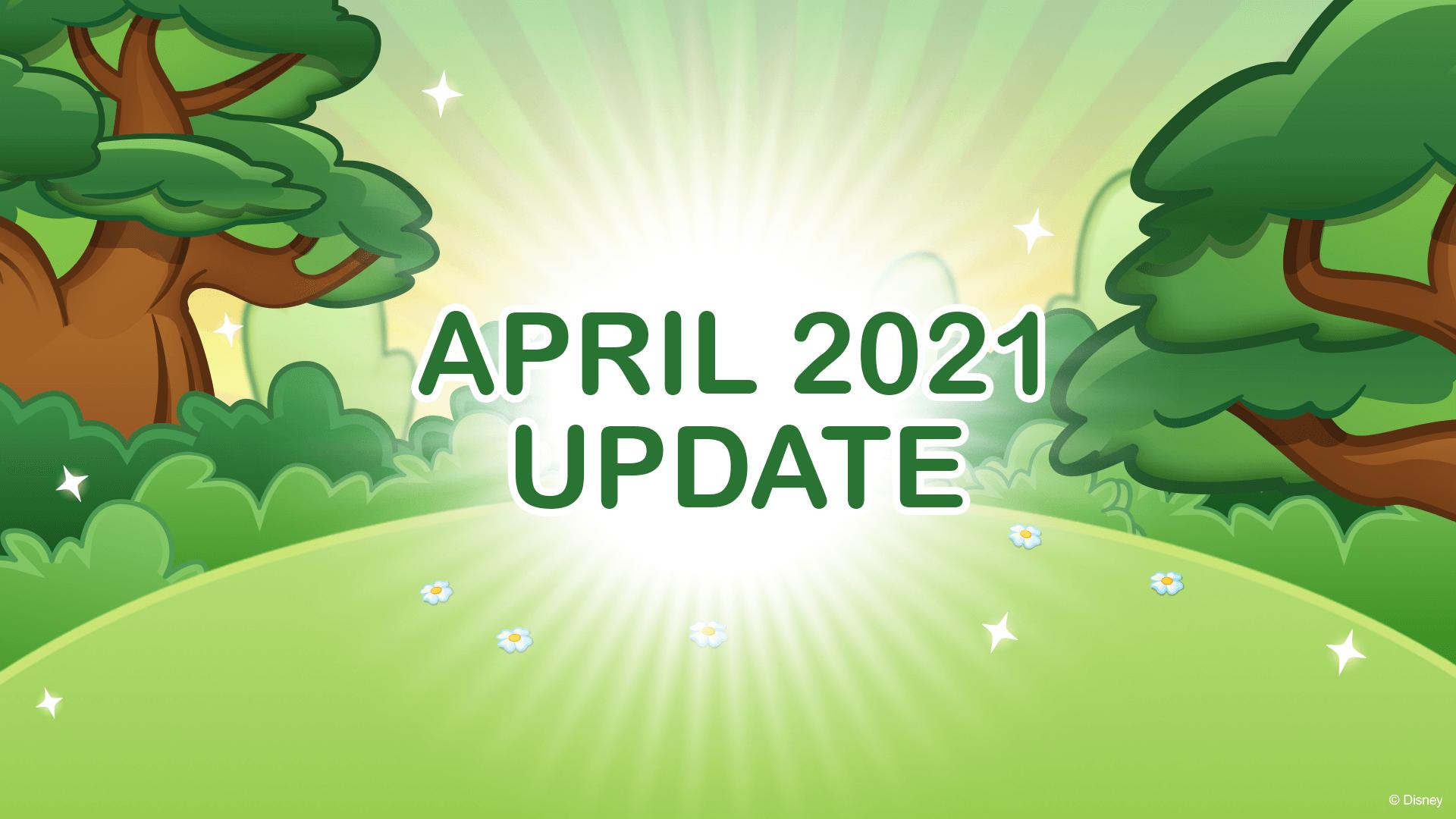 April 2021 Update in Disney Emoji Blitz