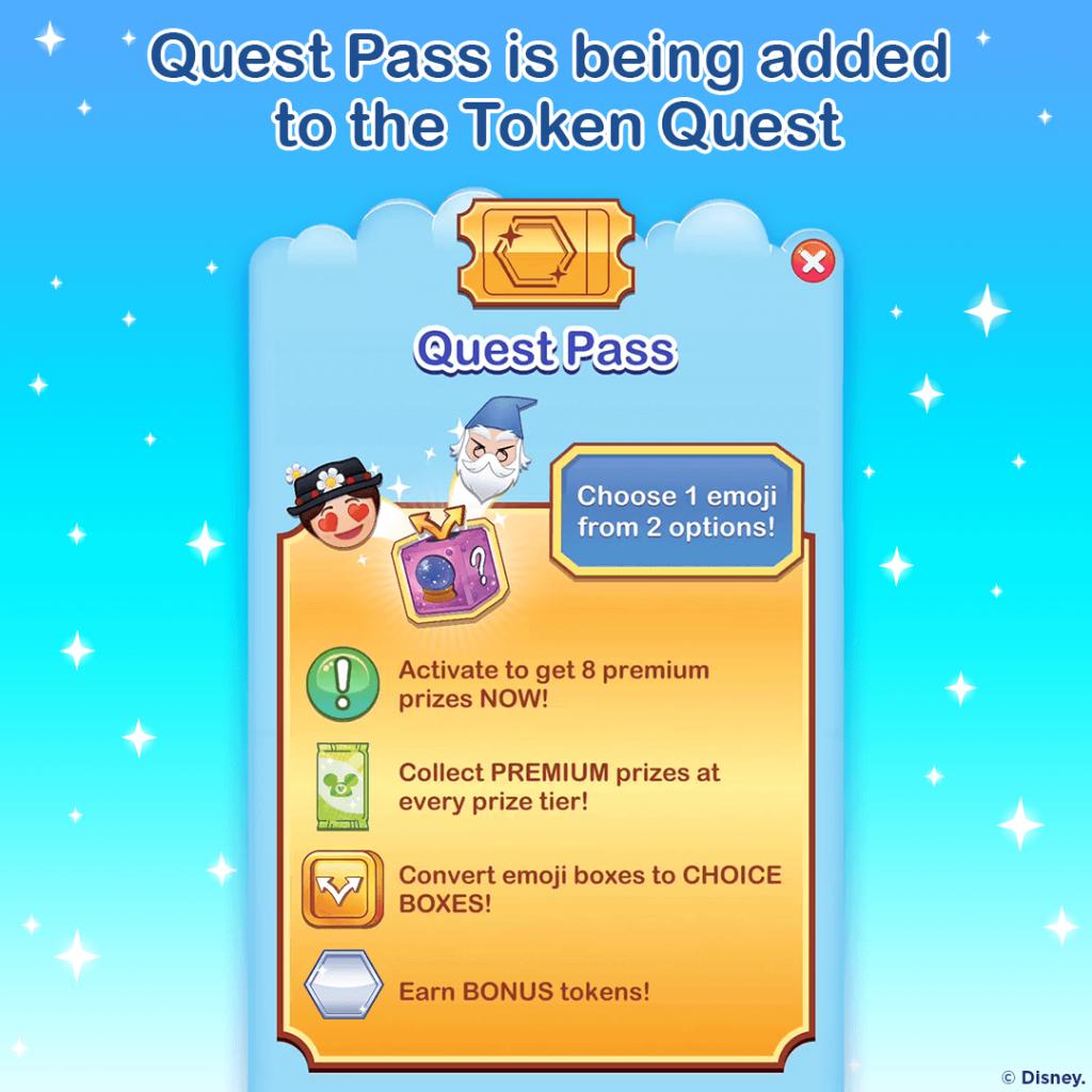Disney Emoji Blitz, Quest Pass