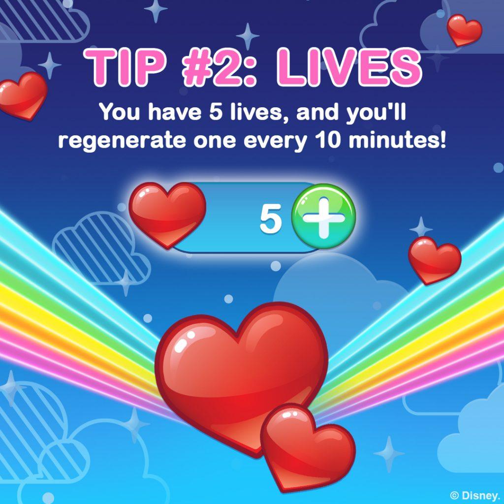 How to Play Disney Emoji Blitz, Tip 2