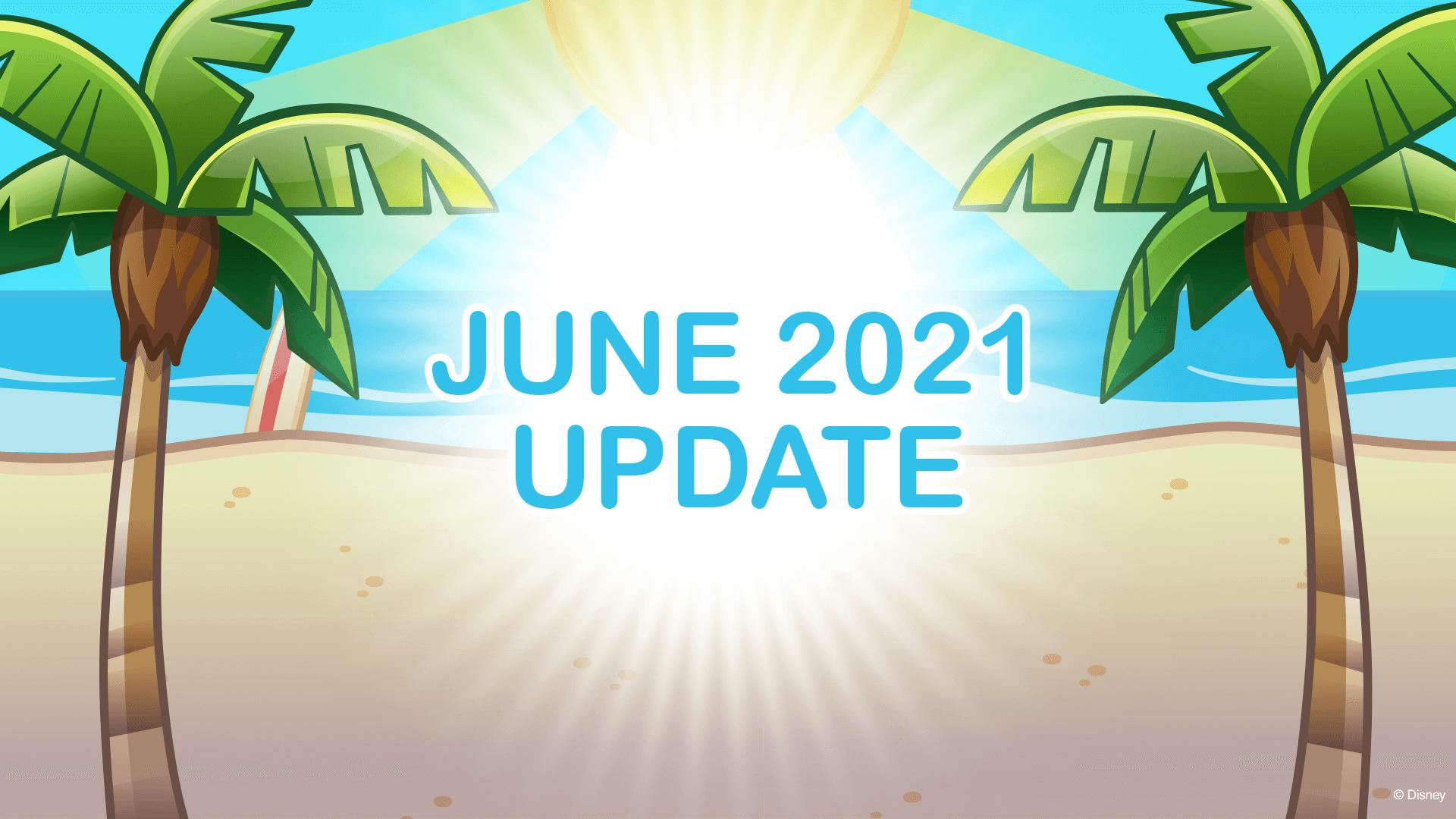 June 2021 Update, Featured Graphic