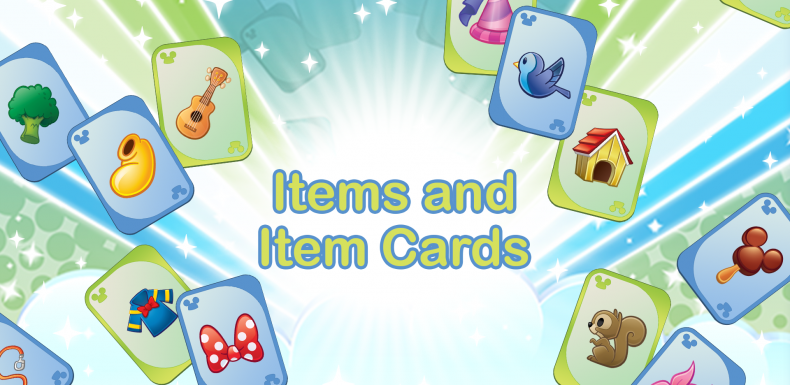 Items and Item Cards Featured Graphic