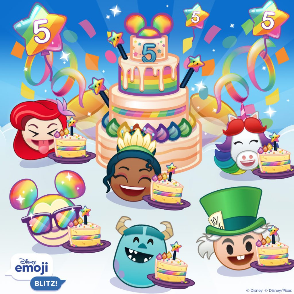 5th Birthday Clear Event