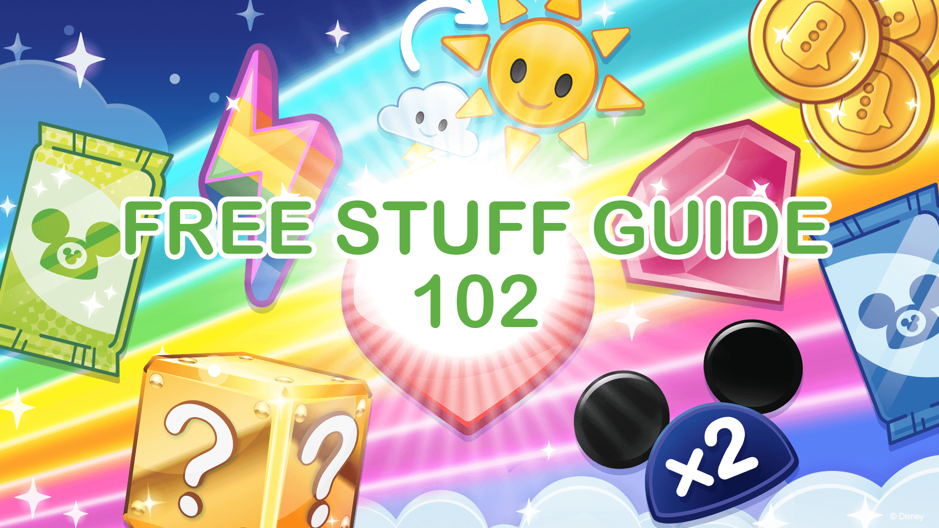 Free Stuff Guide 102